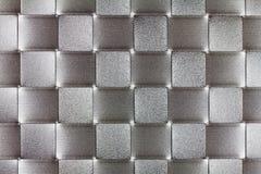 Teste padrão cinzento dos retângulos Imagens de Stock