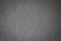Teste padrão cinzento em uma parede, Reino Unido do papel de parede Imagem de Stock Royalty Free
