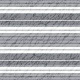 Teste padrão cinzento sem emenda do grunge Imagens de Stock Royalty Free