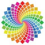 Teste padrão circular Fotos de Stock Royalty Free