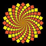 Teste padrão circular Imagens de Stock Royalty Free
