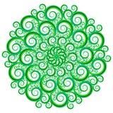 Teste padrão circular bonito e interessante Imagem de Stock Royalty Free