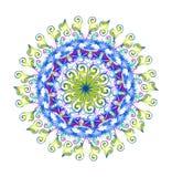 Teste padrão circular bonito e interessante Foto de Stock Royalty Free