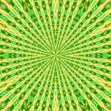 Teste padrão circular no estilo do grunge e em cores verdes teste padrão alinhado ilustração royalty free