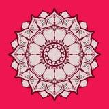 Teste padrão circular oriental étnico Imagens de Stock