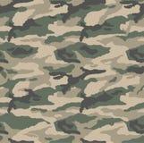 Teste padrão clássico do deserto da camuflagem ilustração stock