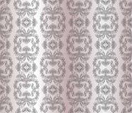 Teste padrão clássico do ornamento do damasco do estilo Ilustração Stock