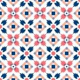 Teste padrão clássico tradicional decorativo marroquino imagem de stock