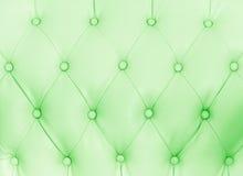 Teste padrão clássico verde do sofá Imagens de Stock Royalty Free