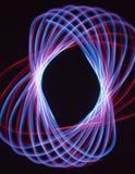 Teste padrão claro vermelho e azul Fotografia de Stock