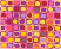 Teste padrão colorido Imagem de Stock Royalty Free