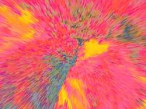 Teste padrão colorido Fotografia de Stock Royalty Free
