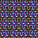 Teste padrão colorido abstrato Imagem de Stock