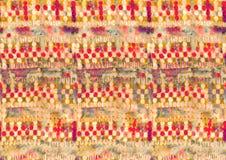 Teste padrão colorido abstrato da cópia de bloco imagens de stock