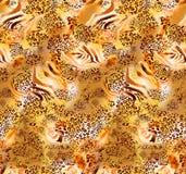 Teste padrão colorido abstrato da cópia de bloco ilustração royalty free