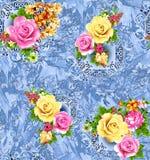 Teste padrão colorido abstrato da cópia de bloco foto de stock royalty free