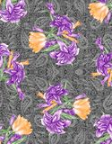 Teste padrão colorido abstrato da cópia de bloco fotos de stock royalty free