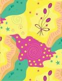 Teste padrão colorido bonito Fotos de Stock Royalty Free