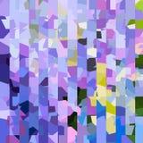 Teste padrão colorido brilhante Mosaico de formas geométricas Polígono coloridos abstraia o fundo Imagem de Stock