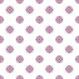 Teste padrão colorido com os ornamento simétricos decorativos Imagem de Stock Royalty Free