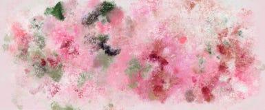 Teste padrão colorido da aquarela Imagem de Stock