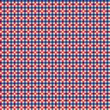 Teste padrão colorido da manta Ilustração do Vetor