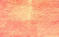 Teste padrão colorido da parede de tijolo, tijolos pintados como a textura urbana Foto de Stock Royalty Free