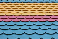 Teste padrão colorido da telha Foto de Stock