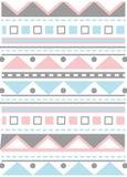 Teste padrão colorido delicado Imagens de Stock Royalty Free