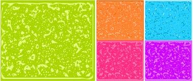 Teste padrão colorido do fundo Ilustração Stock