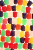 Teste padrão colorido do gumdrop imagens de stock royalty free