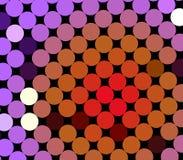 Teste padrão colorido do ponto Foto de Stock Royalty Free