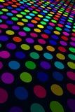 Teste padrão colorido do ponto Fotografia de Stock Royalty Free