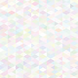 Teste padrão colorido do vetor retro Foto de Stock