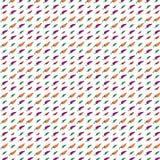 Teste padrão colorido dos desenhos animados da malagueta picante Fotos de Stock Royalty Free