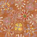 Teste padrão colorido floral sem emenda Imagens de Stock