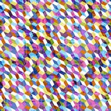 Teste padrão colorido geométrico abstrato para o fundo fotos de stock royalty free