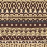 Teste padrão colorido sem emenda étnico Fotografia de Stock