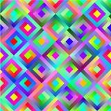 Teste padrão colorido sem emenda Imagens de Stock