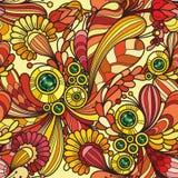 Teste padrão colorido sem emenda decorativo abstrato Fotos de Stock Royalty Free
