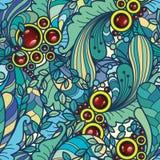 Teste padrão colorido sem emenda decorativo abstrato Imagem de Stock