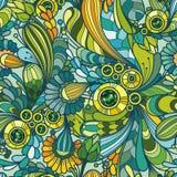 Teste padrão colorido sem emenda decorativo abstrato Fotografia de Stock Royalty Free