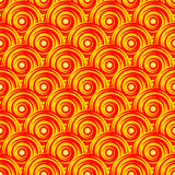 Teste padrão colorido sem emenda do redemoinho do projeto. Geo brilhante ilustração royalty free