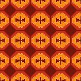 Teste padrão colorido tribal 24 Imagens de Stock