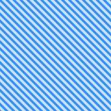 Teste padrão com as listras azuis diagonais Fotos de Stock