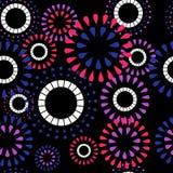 Teste padrão com círculos Imagem de Stock Royalty Free