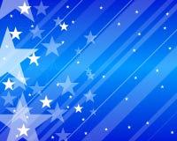 Teste padrão com estrelas Imagens de Stock Royalty Free