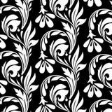 Teste padrão com flores Ilustração Royalty Free
