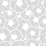 Teste padrão com lente ilustração do vetor