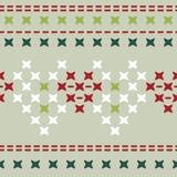 Teste padrão com os testes padrões que imitam imagens bordadas ilustração royalty free
